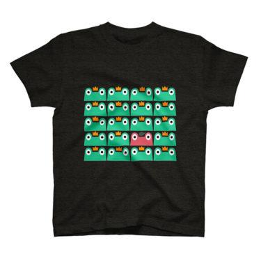 カエルTシャツ by SUZURI
